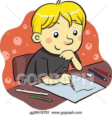 A child studying clipart 6 » Clipart Portal.