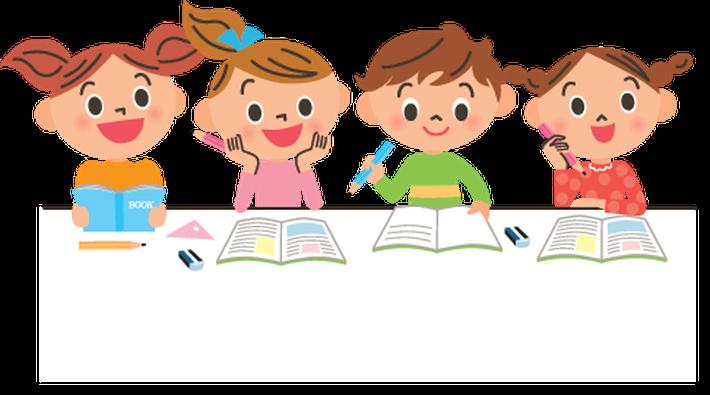 Studying Children.