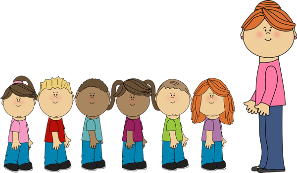 Children in line clipart 3 » Clipart Station.