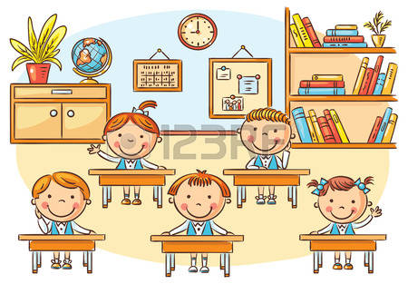 14,813 Children Classroom Cliparts, Stock Vector And Royalty Free.