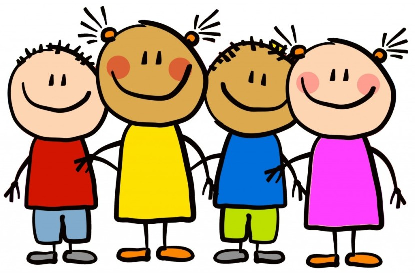 School Children Clipart.