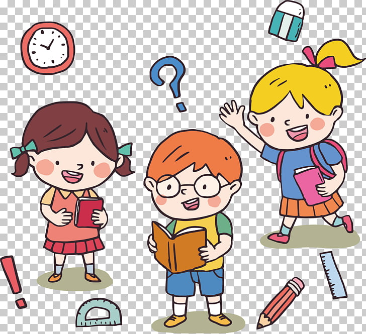 Child Learning , Children who love learning PNG clipart.