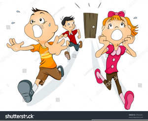 Free Clipart Children Running.
