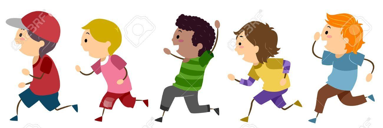 Free clipart of children running 7 » Clipart Portal.