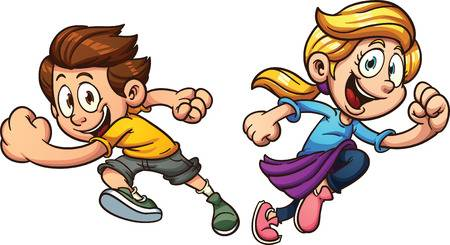 Children running clipart 6 » Clipart Station.