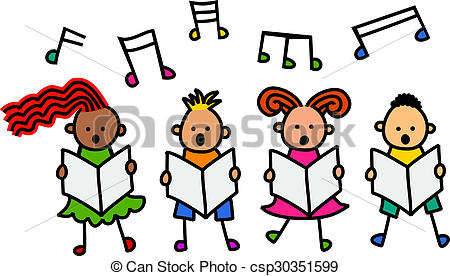 Choral singing Clipart and Stock Illustrations. 63 Choral singing.