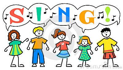 Best Children Singing Clipart #19619.