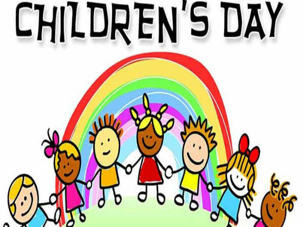 Childrens Day Drawing.