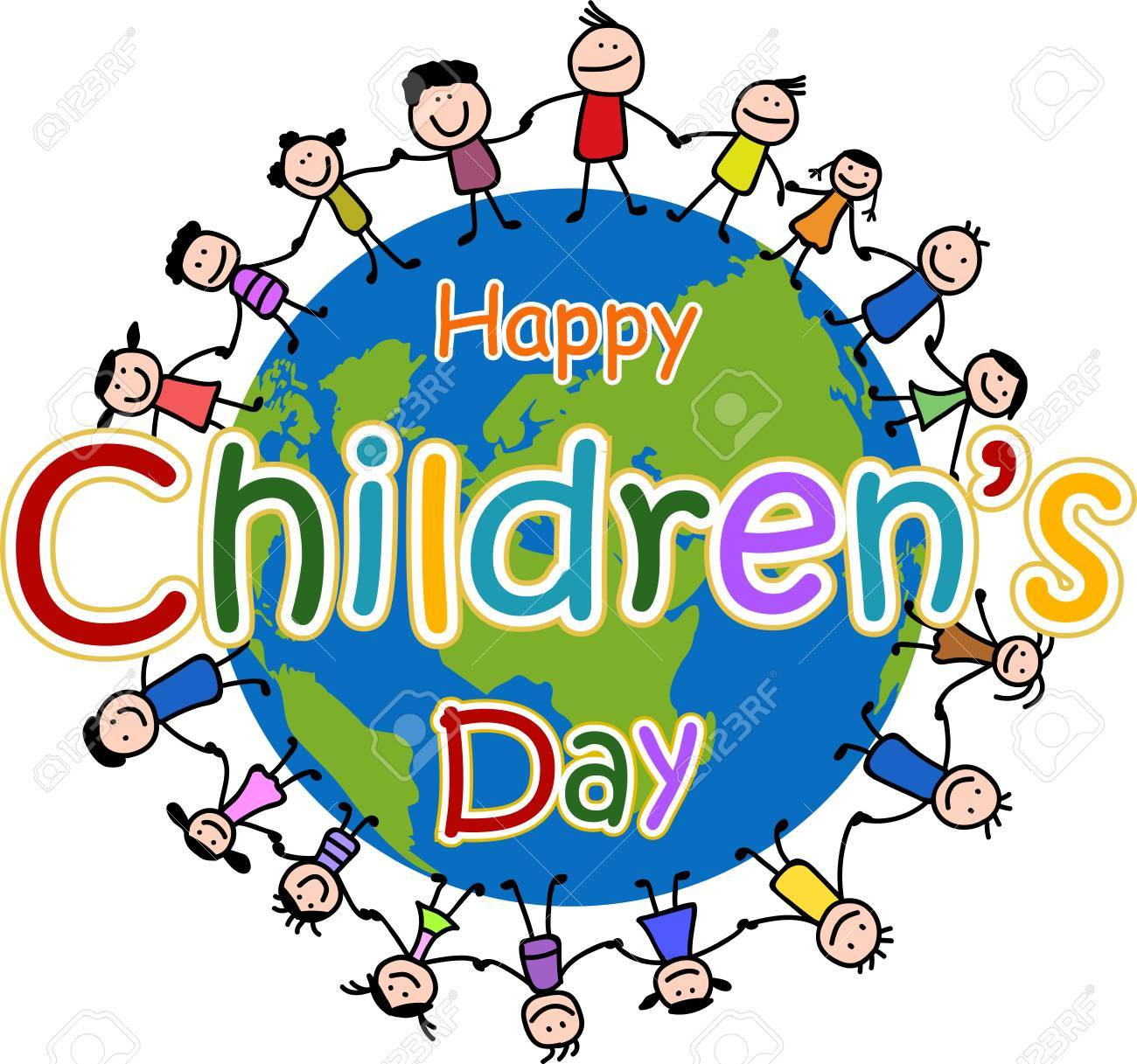 Happy childrens day clipart 6 » Clipart Portal.