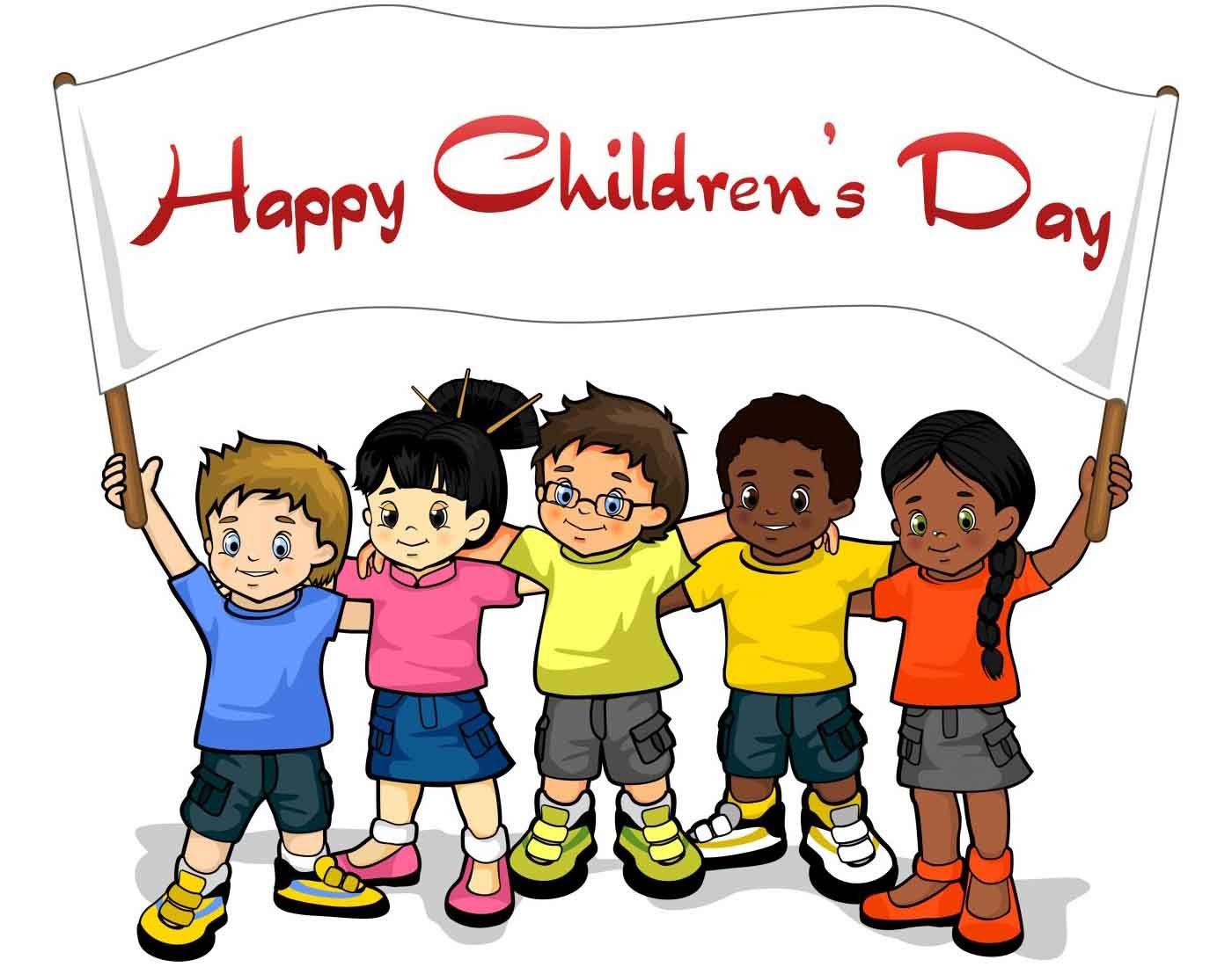 International Children's Day, celebrated JUNE 1.