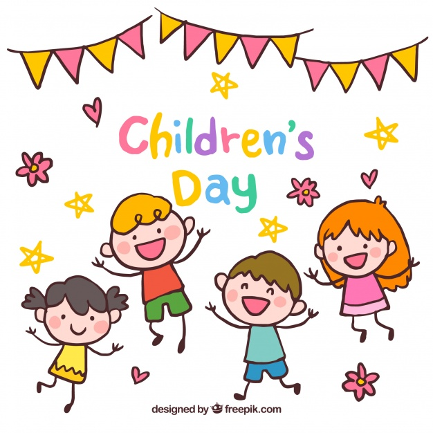Happy childrens day design Vector.