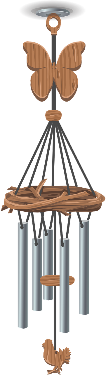 Wind Chimes Clip Art , Png Download.