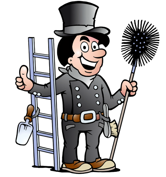 L. Clay\'s Chimney Sweeping Services Fireplace.