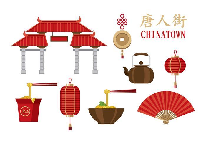 Chinatown Vectors.