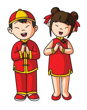 Chinese Costume Clipart & Free Clip Art Images #29893.