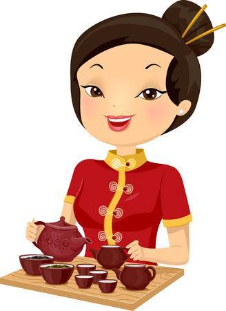 Chinese girl clipart » Clipart Portal.