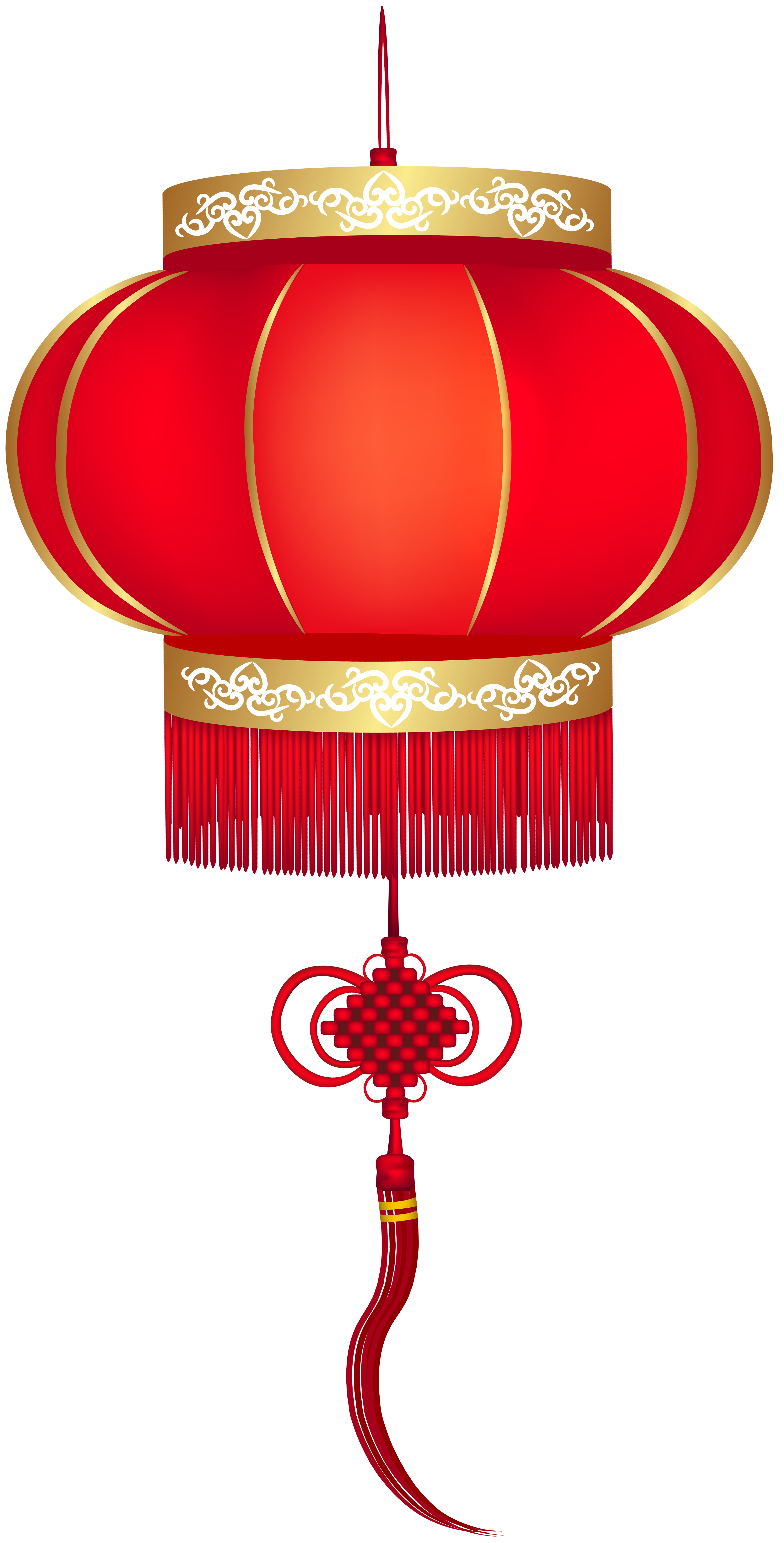 Chinese Red Lantern PNG Clip Art.
