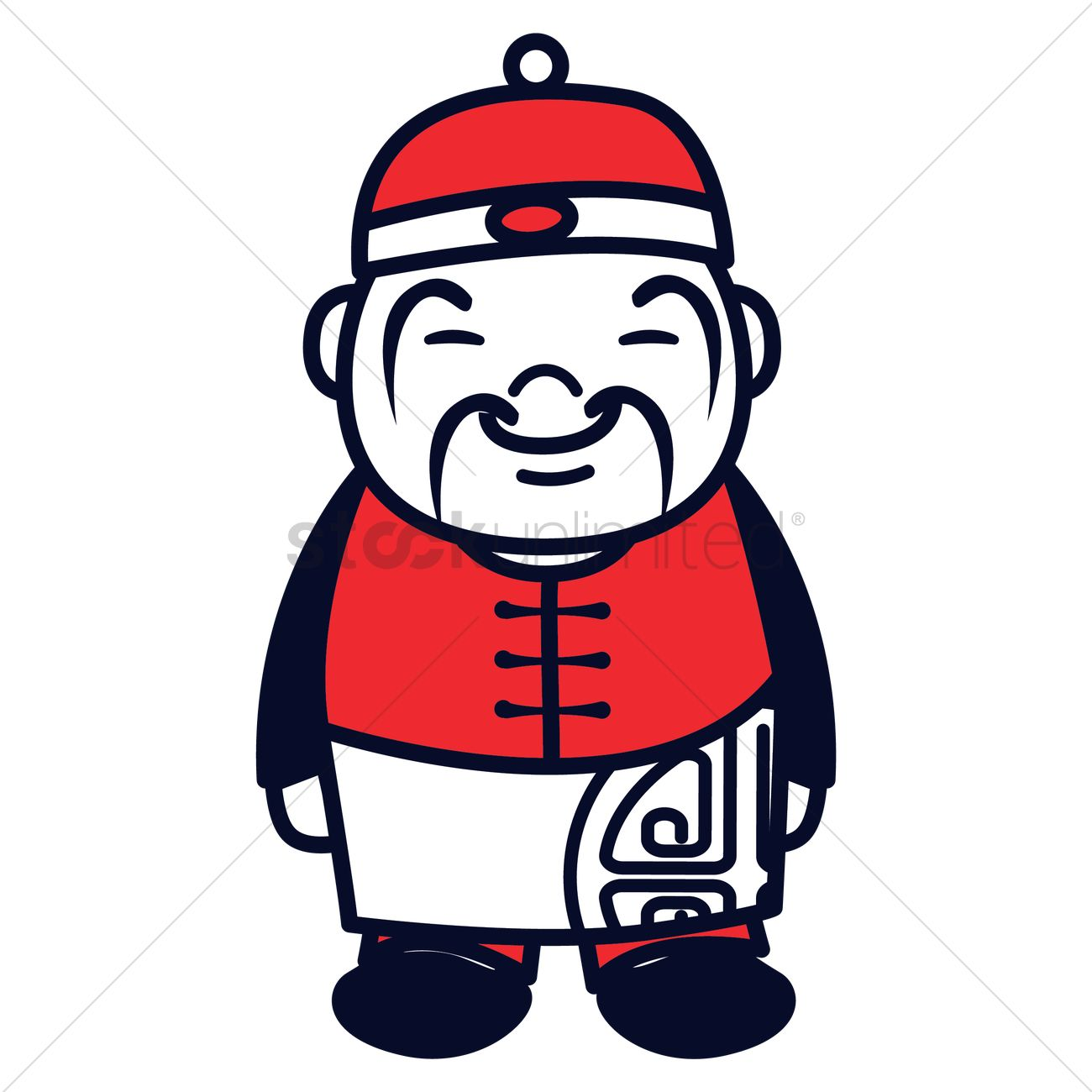 Chinese Guy Clipart.