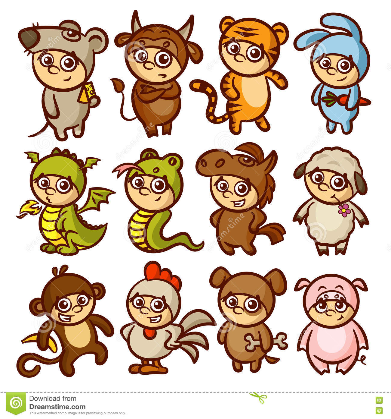 Clipart Chinese New Year Animals 20 Free Cliparts
