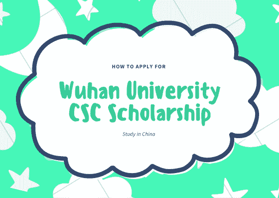 Wuhan University CSC Scholarship 2019.