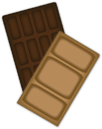 Chocolate candy bar clipart free image #27798.