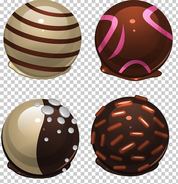 Chocolate Balls White Chocolate Candy PNG, Clipart.