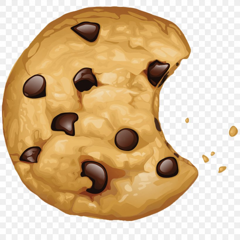 Chocolate Chip Cookie Biscuits Clip Art, PNG, 1235x1235px.