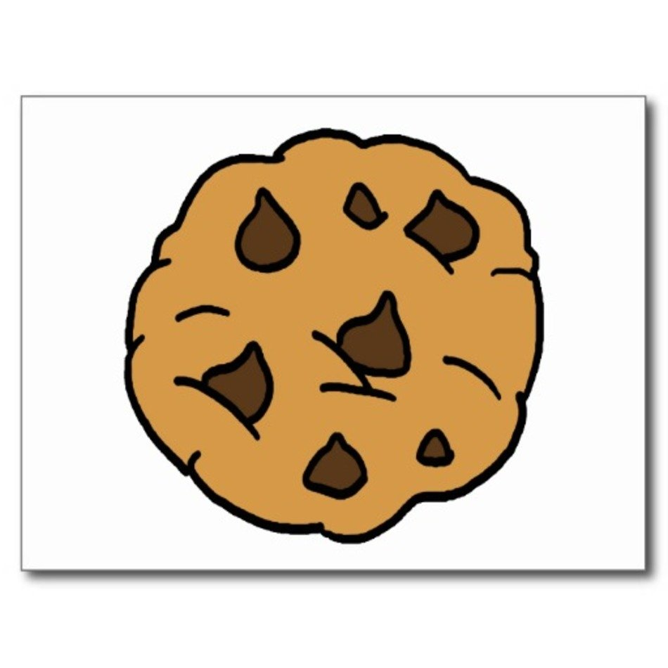 Chocolate Chip Cookie Clip Art N35 free image.