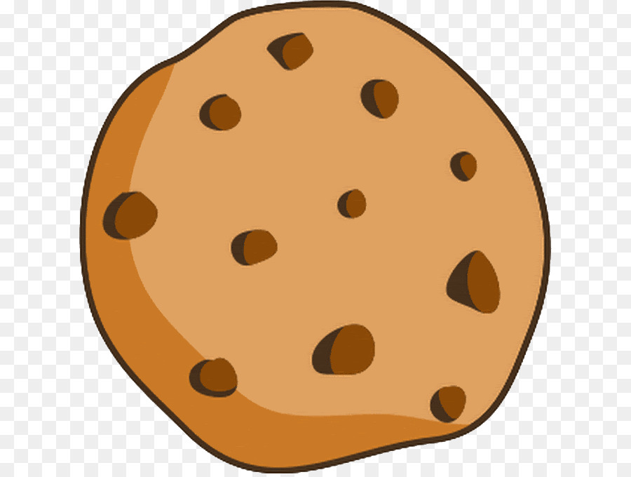 Chocolate Chip Cookies Clipart Transparent.