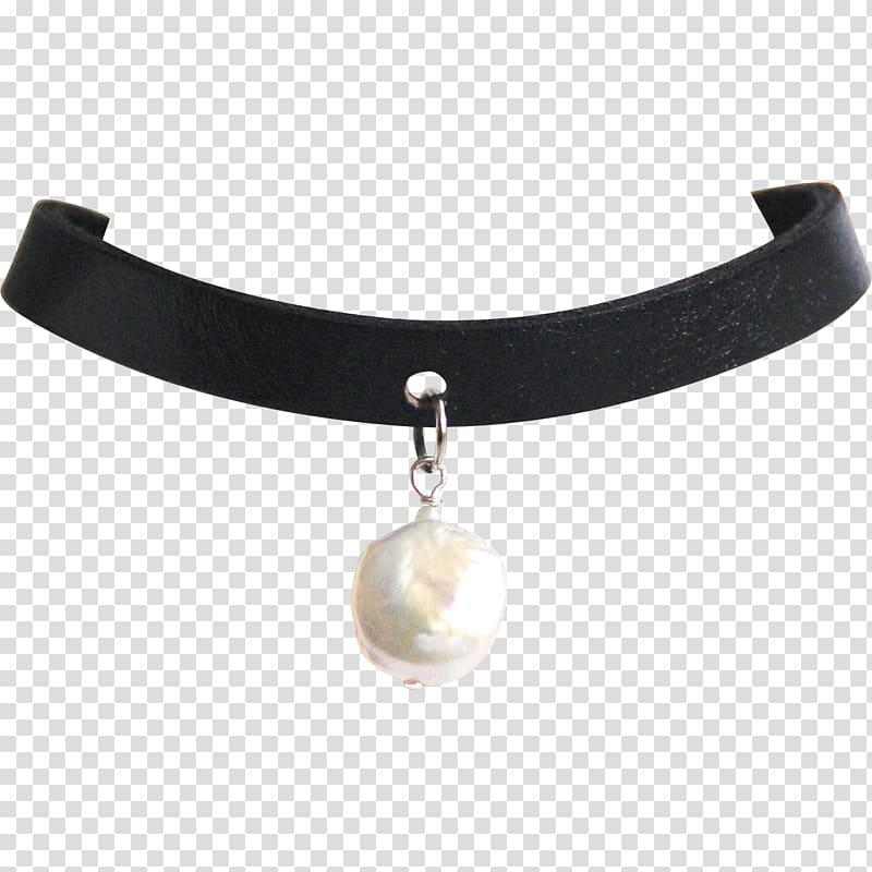 Pearl Jewellery Choker Necklace Collar, pearls transparent.