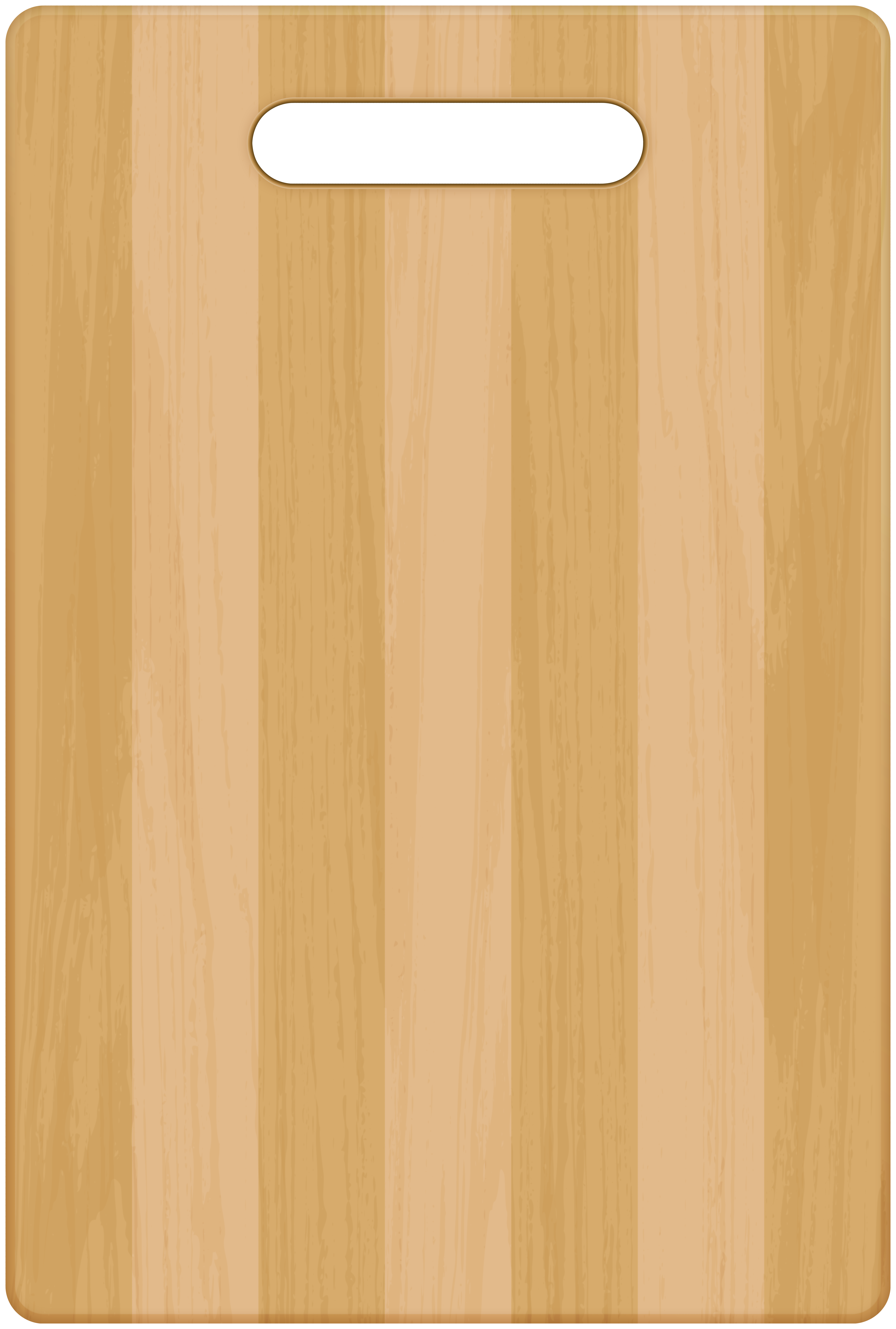 Wood Cutting Board PNG Clipart.