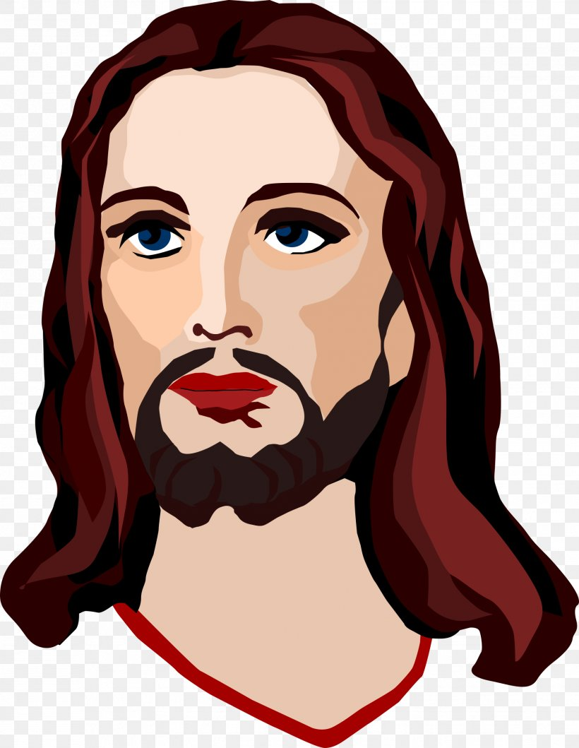 Depiction Of Jesus Christianity Clip Art, PNG, 1858x2400px.