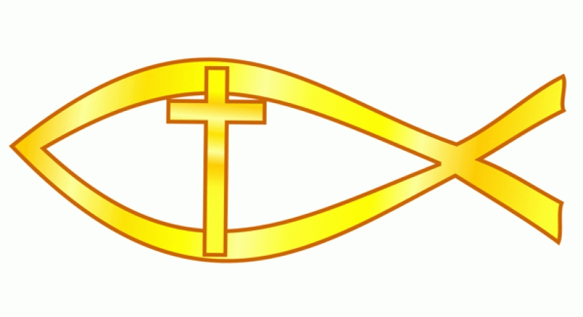 christian fish symbol clip art clipartsco intended for clipart of.