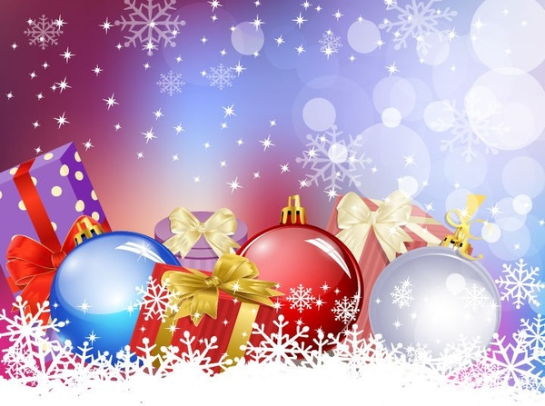 Christmas background clipart 3 » Clipart Station.