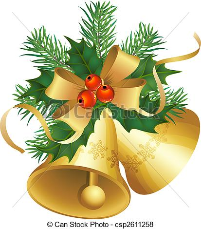 Christmas bells Illustrations and Clip Art. 22,470 Christmas bells.