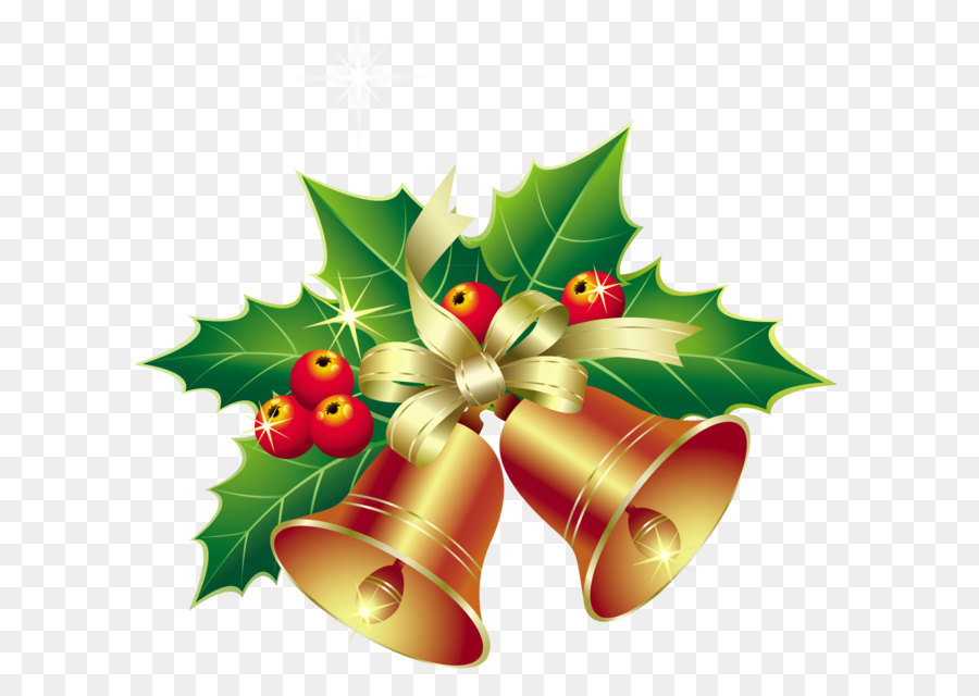 Christmas Bell Cartoon png download.