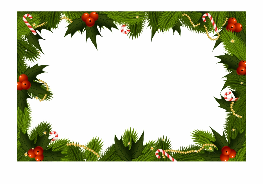 Free Christmas Borders, Frame Template, Christmas Frames.