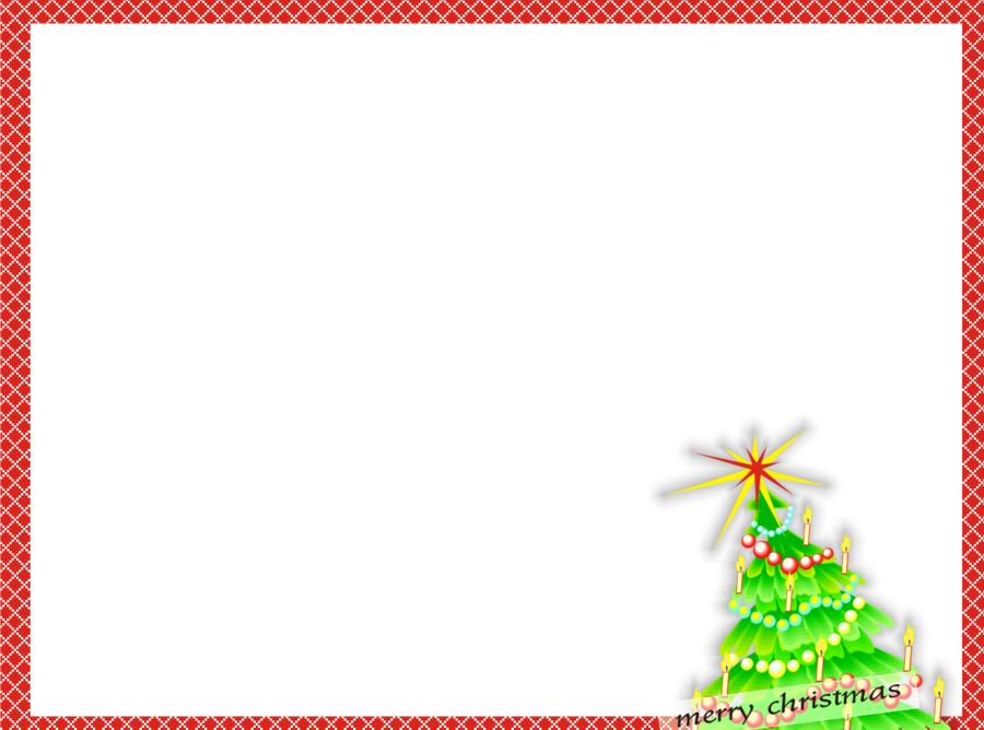 Christmas Card Border clipart.