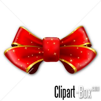 CLIPART CHRISTMAS BOW.