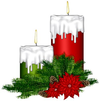 113 Best images about Christmas Candles on Pinterest.