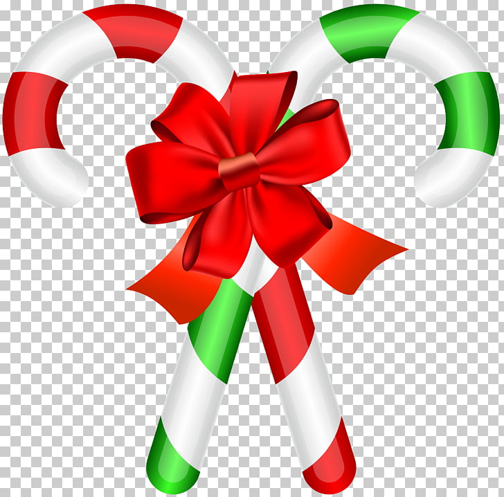 Candy cane Christmas Illustration, Christmas Candy Canes PNG.