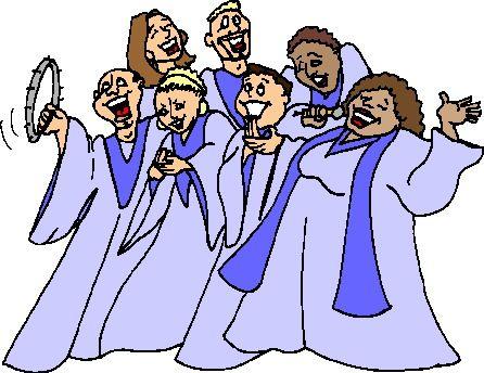 christmas choir clip art.