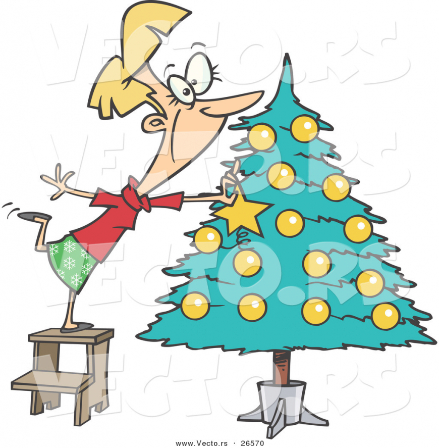 clipart christmas decorating - Clipground