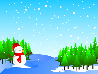 Christmas snowman clip art pictures and background wallpapers.