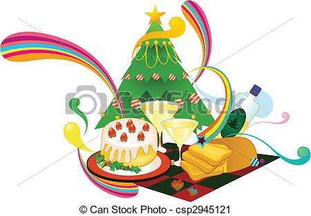 Christmas dinner Illustrations and Clip Art. 2,842 Christmas.
