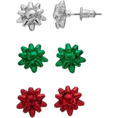 Christmas Earrings Cliparts.