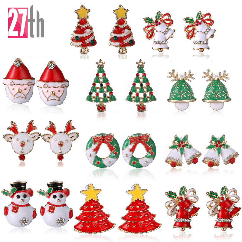 Online Buy Wholesale santa earrings from China santa earrings.