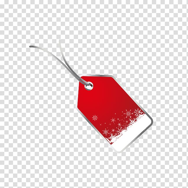Christmas Gift Editing, Tag transparent background PNG.
