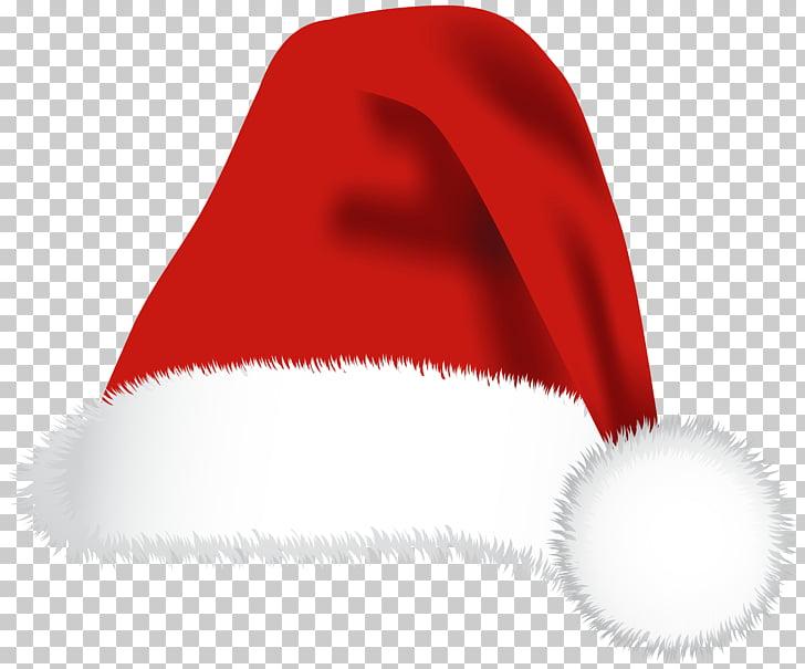 Santa Claus Hat Christmas Cap, Santa Hat PNG clipart.