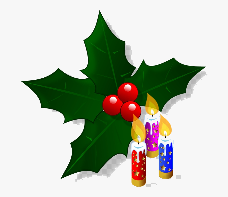 Christmas Holly Clipart , Transparent Cartoon, Free Cliparts.
